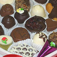 Assorted Fine Chocolates for Valentine's Day
