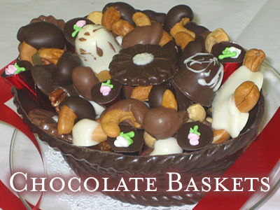 Chocolate Baskers filled with Assorted Chocolates
